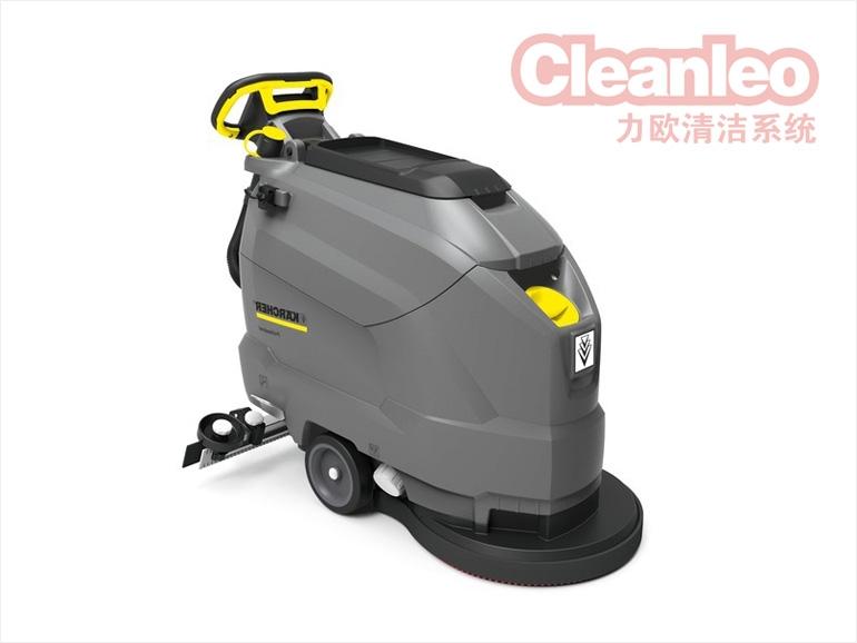 详谈一下手推式洗地机的电池要怎么安装