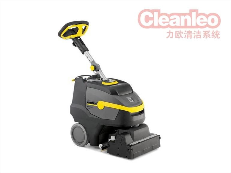 了解一下手推式洗地机是怎么操作