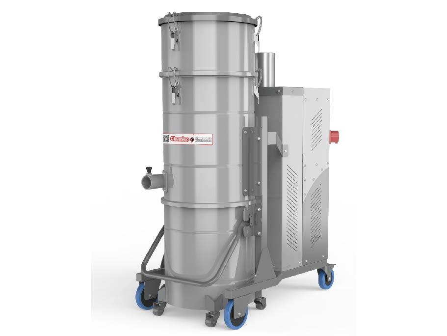 力欧工业吸尘器 IVC120-7 商用大功率 工厂车间装修移动吸尘器